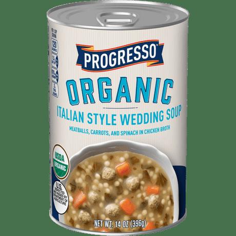 Organic Italian Wedding Canned Soup Progresso