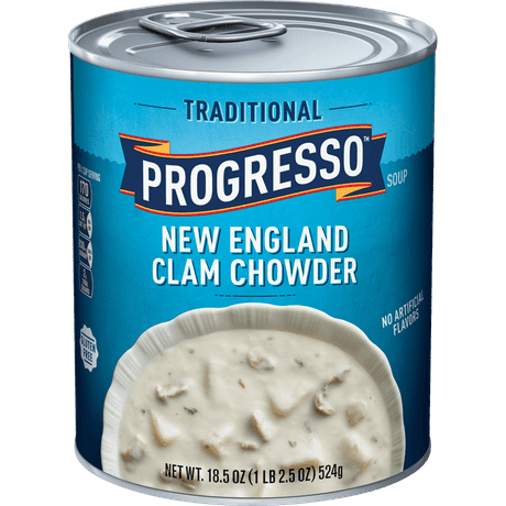 New England Clam Chowder | Canned Soup