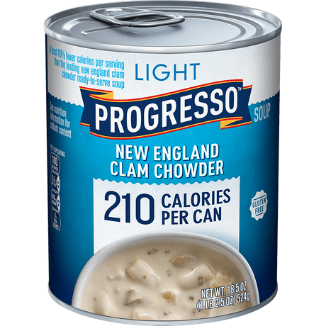 Light New England Clam Chowder | Canned