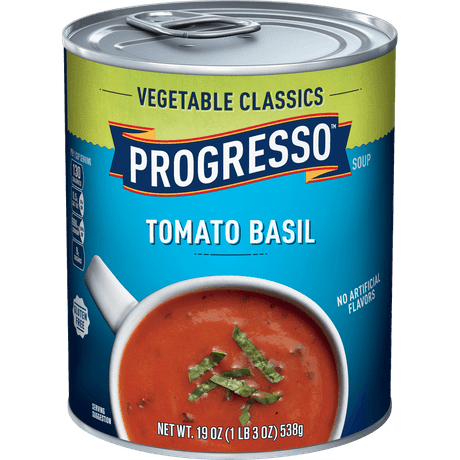 Vegetable Classics Tomato Basil Canned Soup Progresso